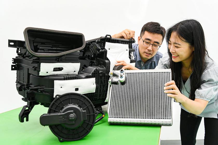 Hyundai разработала новую систему кондиционирования для своих автомобилей