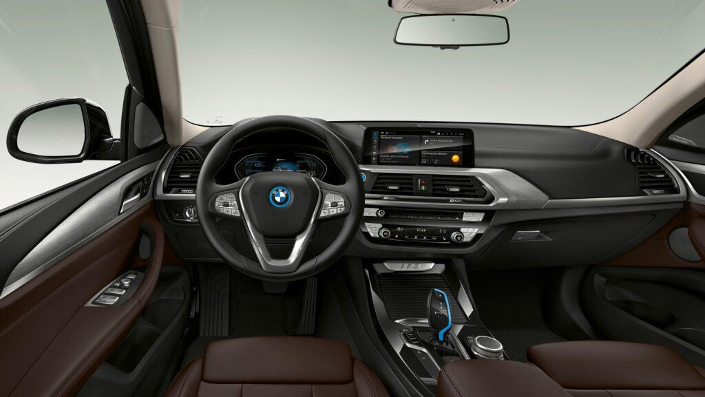 BMW представила новый электрический внедорожник BMW iX3