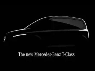 Mercedes выпустит новую модель T-Class на базе фургона Citan