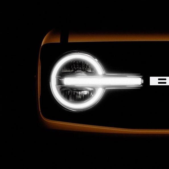 Опубликованы первые официальные фотографии нового Ford Bronco