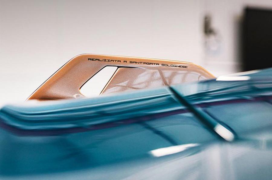 Lamborghini представит новую вариацию гиперкара Sián FKP 37