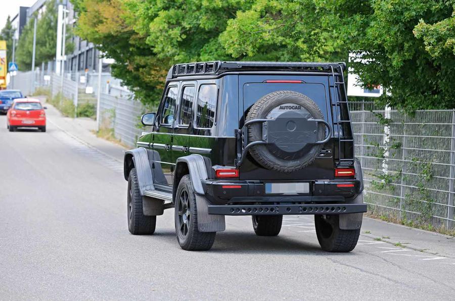 Экстремальный Mercedes-AMG G-Class 4x4 заметили без камуфляжа