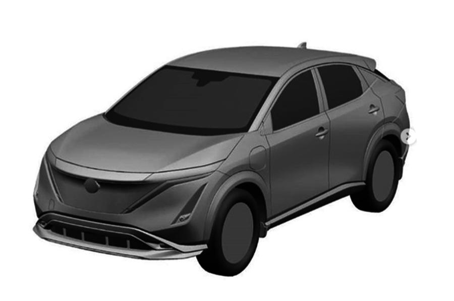 Nissan показала на видео новый электрический кроссовер Ariya