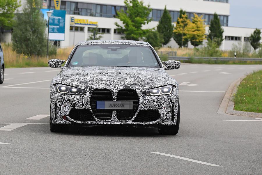 Опубликованы новые шпионские снимки BMW M4 2021 модельного года