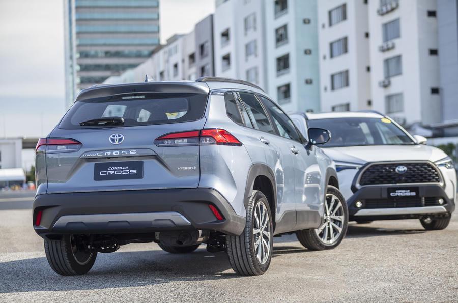 Toyota представила кроссовер Corolla Cross за 2,2 млн рублей на азиатском рынке
