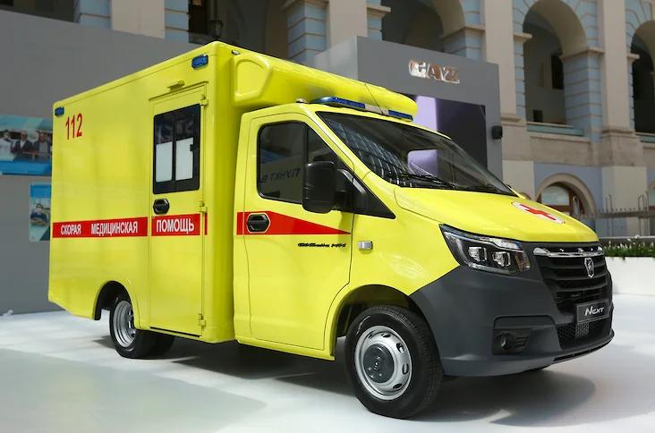 Группа ГАЗ представила модульные автомобили скорой помощи