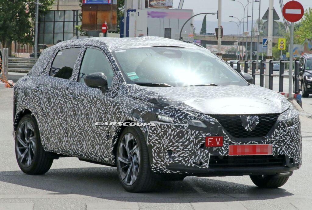 Новый Nissan Qashqai сфотографировали во время тестов