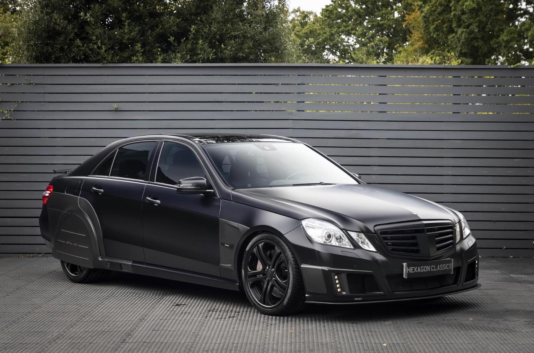 Один из самых быстрых седанов Mercedes-Benz выставлен на продажу