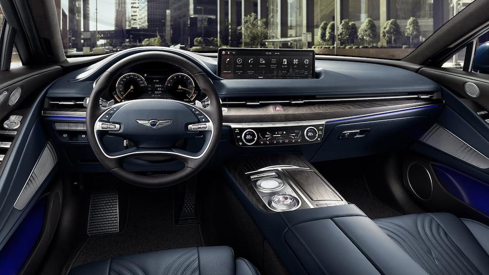 Genesis сертифицировал в РФ новый седан Genesis G80