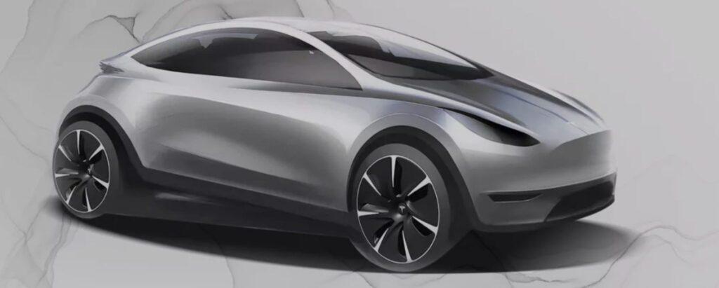 Tesla намекнула на новую модель автомобиля китайского производства