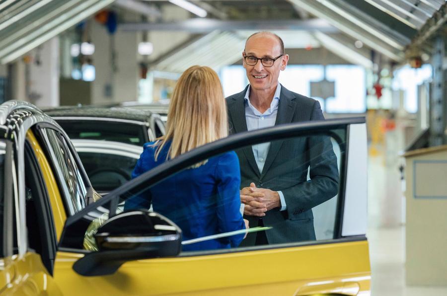 Началось производство нового электрического внедорожника Volkswagen ID 4