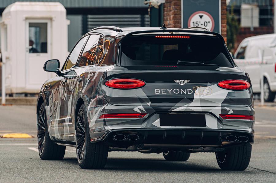 Новый Bentley Bentayga Speed будет представлен на следующей неделе