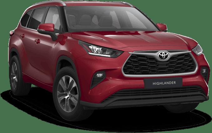 Toyota начала продажи нового Toyota Highlander в России