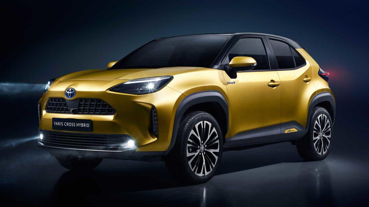 Компания Toyota запустила продажи модели Yaris Cross