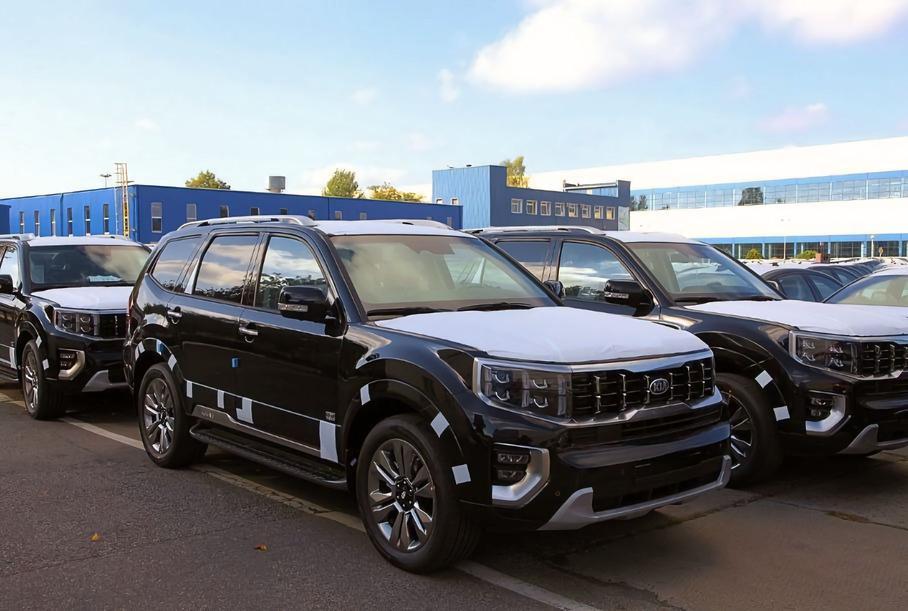 Автотор начал выпуск обновленных внедорожников Kia Mohave