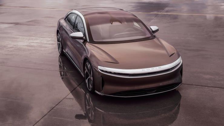 Lucid Motors представил новый серийный электромобиль Lucid Air