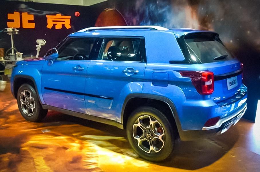 Компания Beijing презентовала внедорожник в стиле Jeep