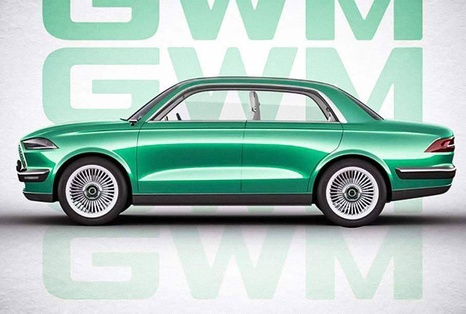 Компания Great Wall стилизовала новый седан под «Волгу»