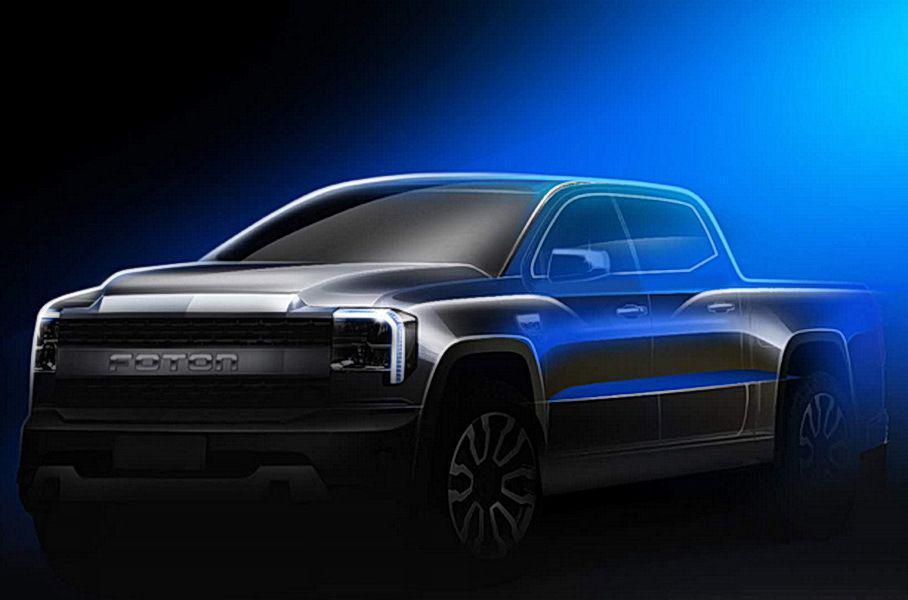 Китайская Foton представила новый пикап в стиле Ford F-150