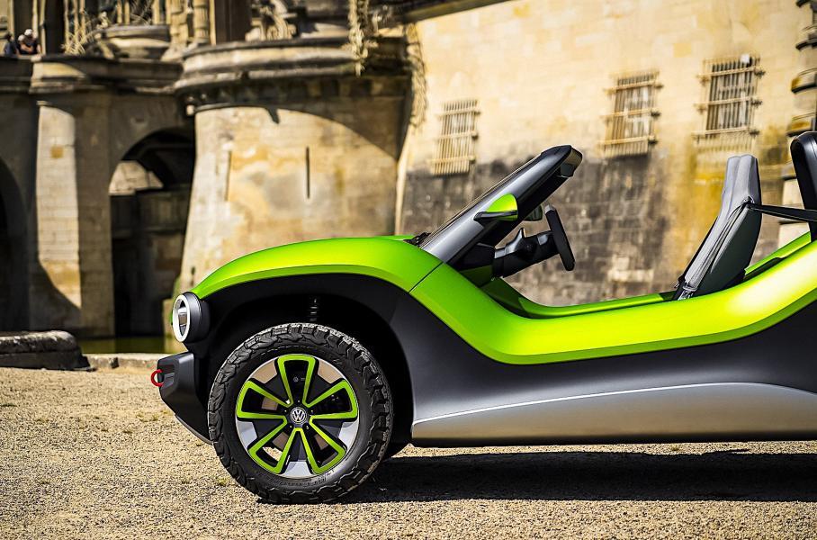 Volkswagen придумал имя для своего внедорожника на электротяге