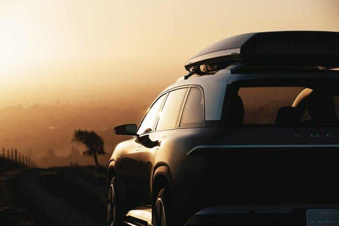 Lucid Motors запустит электрический внедорожник вслед за своим седаном Lucid Air