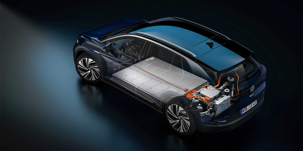 Volkswagen презентовал новый электрический кроссовер ID.4