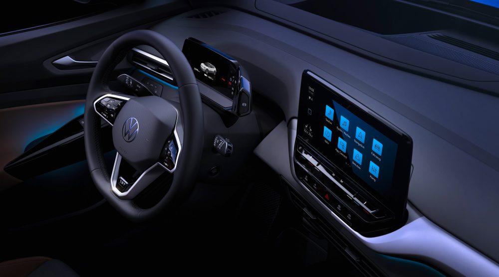 Volkswagen впервые показал салон ID.4, вдохновленный Tesla