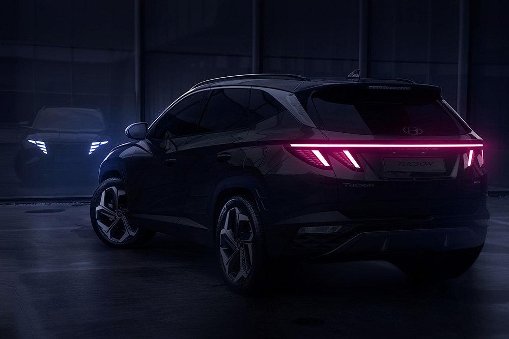 Hyundai рассекретил новый кроссовер Tucson четвертой генераци