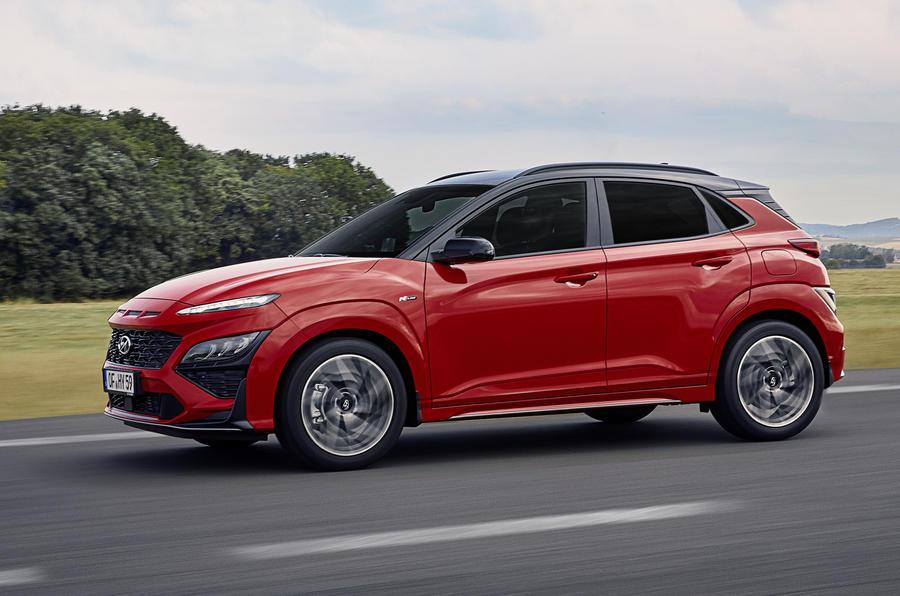 Обновленный Hyundai Kona получил отделку N Line и варианты мягкого гибрида