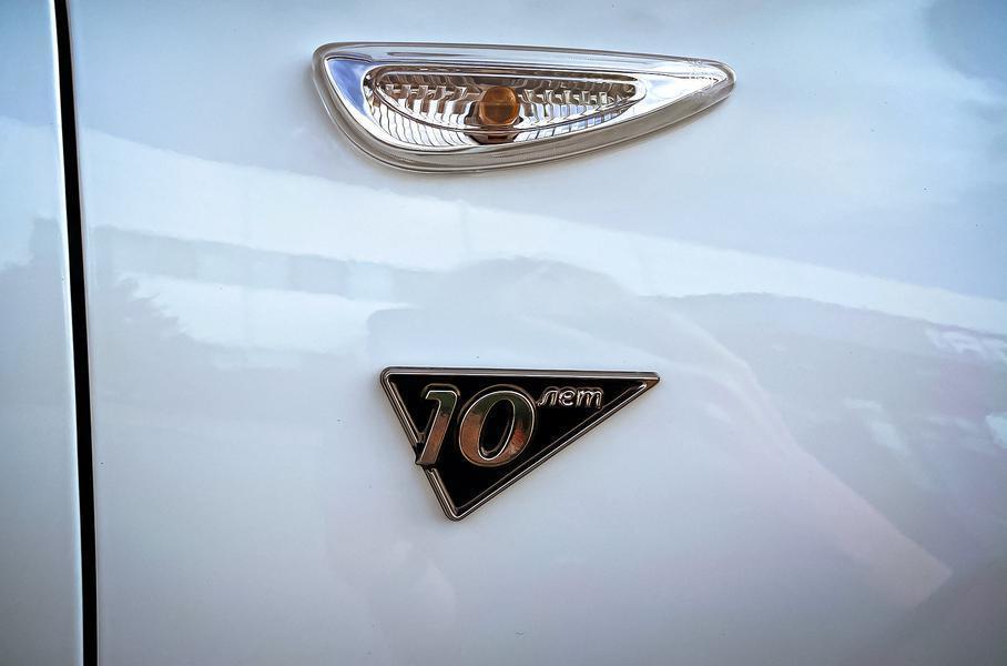 Hyundai выпустит 4,5 тысячи юбилейных Solaris для России