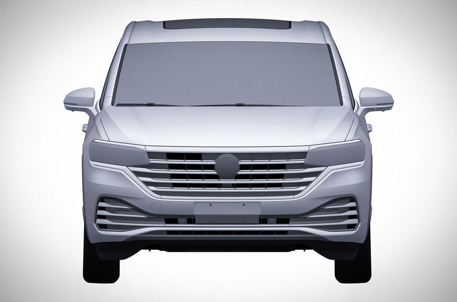 Volkswagen запатентовал в России новую семиместную модель