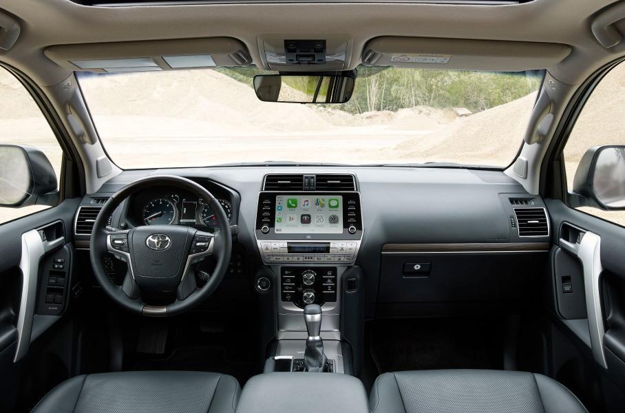 Toyota открыла в РФ предзаказ на обновленный Land Cruiser Prado