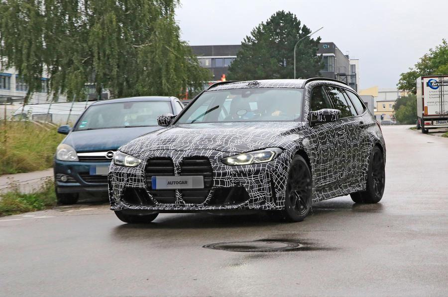 Универсал BMW M3 Touring 2022 года был заснят на тестах