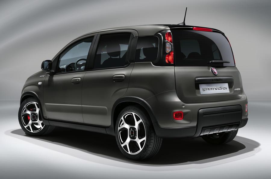 Fiat Panda обновлен к 40-летию модели в 2020 году