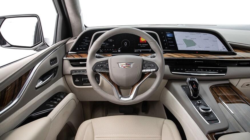 Cadillac Escalade 2021 года: Босс вернулся