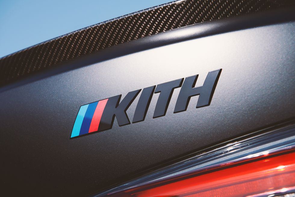 BMW M4 Competition 2022 получит специальное издание Stylish Kith Special Edition