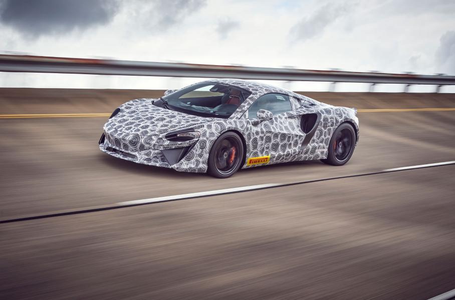 McLaren выпустит новый супергибрид в начале 2021 года