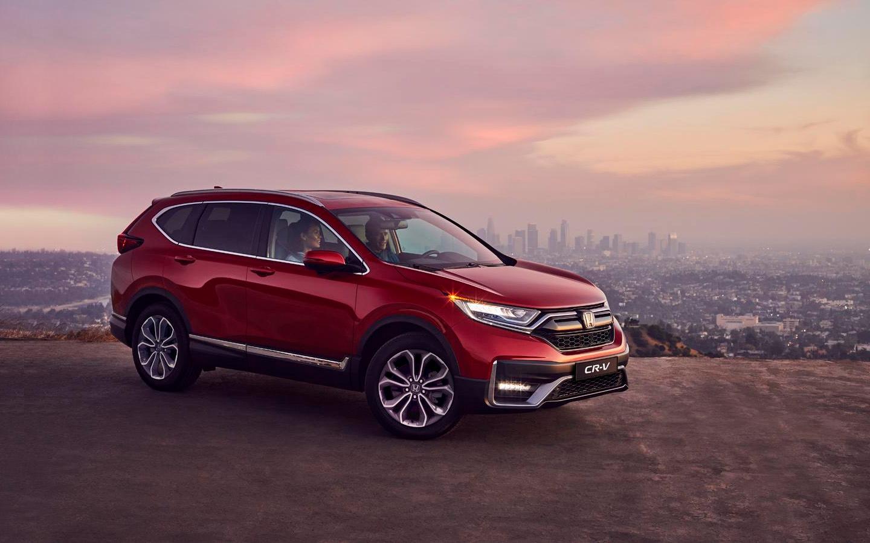 Обновленный Honda CR-V вышел в продажу в России
