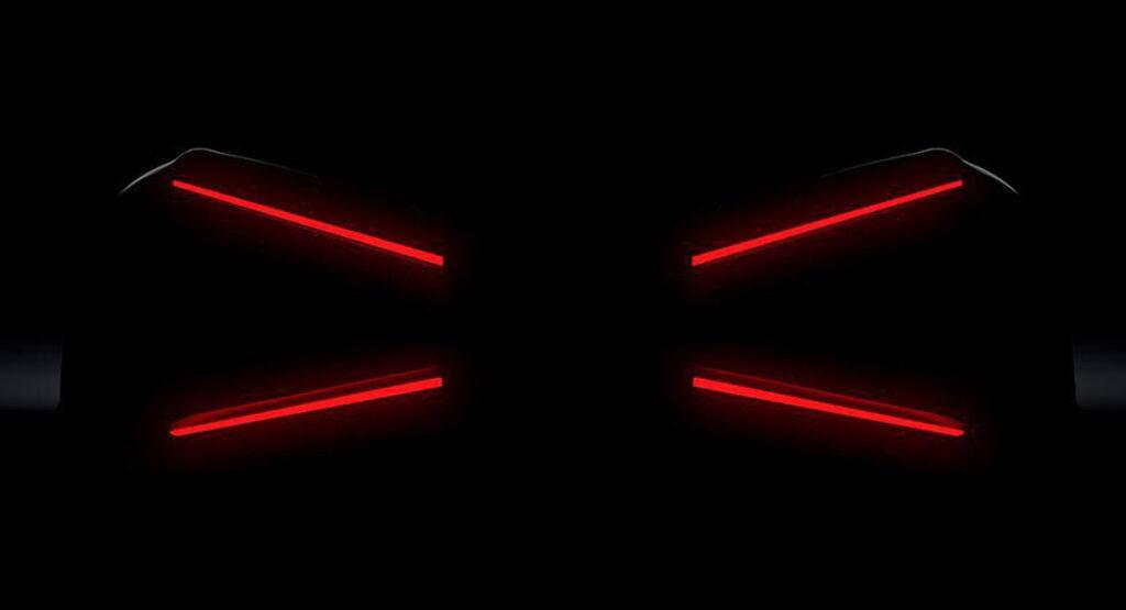 Таинственный новый Bugatti дебютирует на следующей неделе