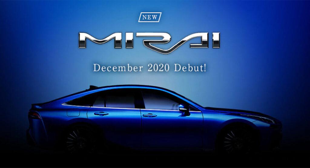 Toyota Mirai 2021 года на шпионских фото практически не отличается от концепта