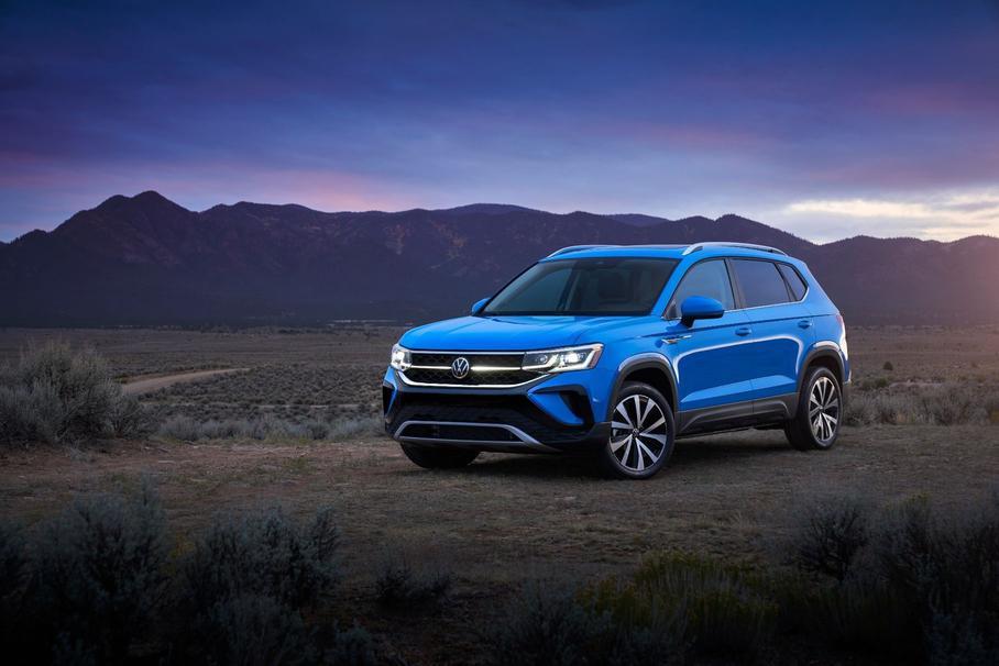 Volkswagen презентовал новый кроссовер Volkswagen Taos