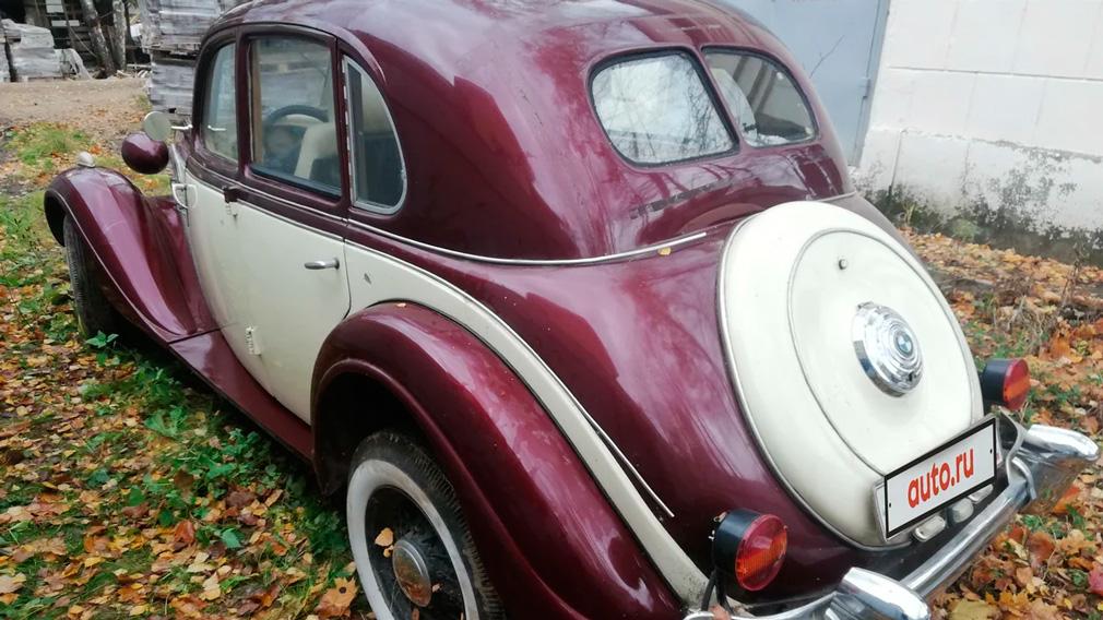 В России выставили на продажу BMW 1938 года за 440 тыс. рублей