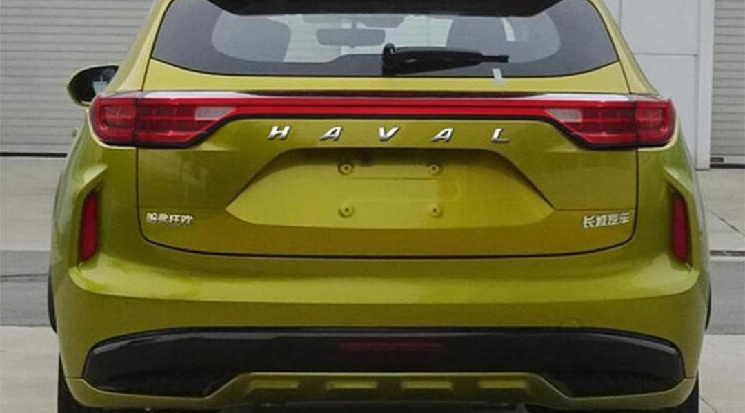 Новый кроссовер Haval F5 рассекретили до официальной премьеры
