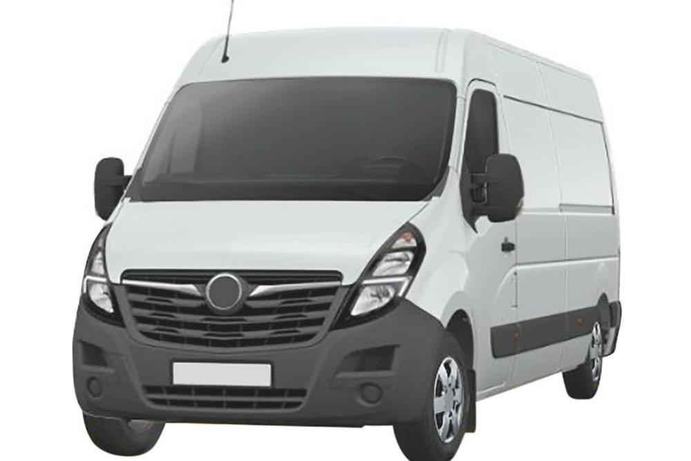 Концерн PSA запатентовал в РФ рестайлинговый фургон Opel Movano