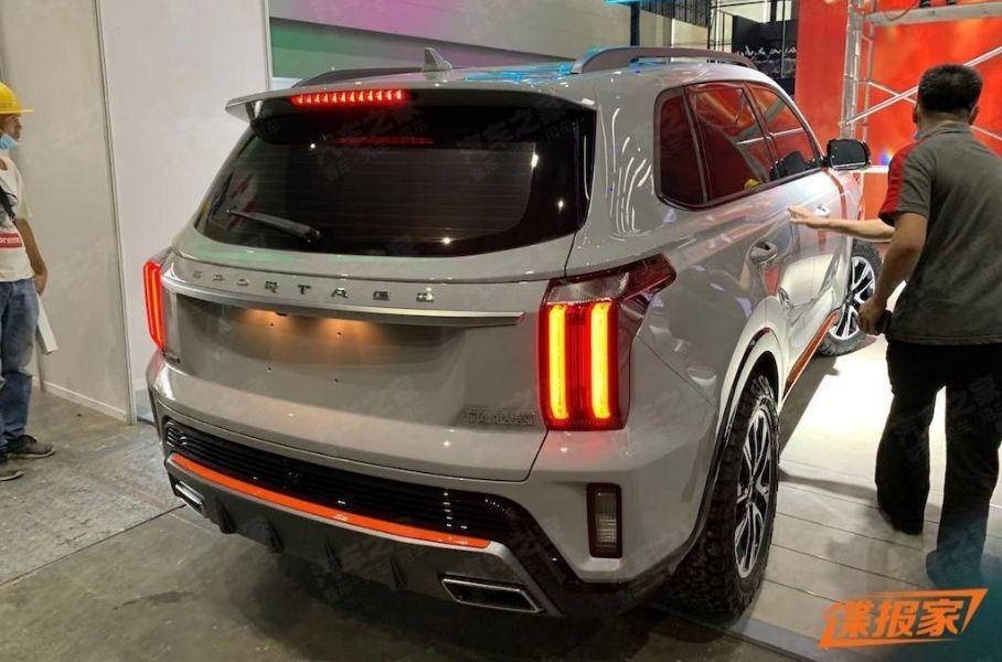 Рассекречена китайская версия Kia Sportage нового поколения