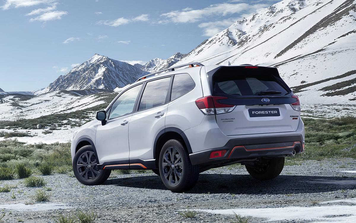 Subaru представила в России кроссовер Forester Sport