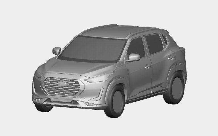 Nissan запатентовал в России новый кроссовер