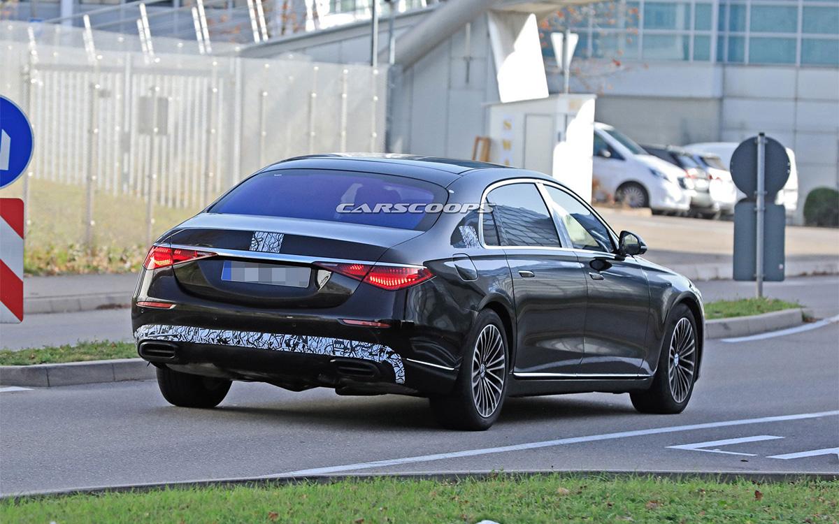Mercedes-Benz вывел на финальные тесты роскошный S-Class