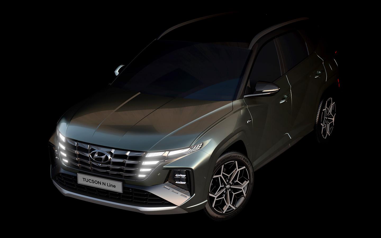 Hyundai рассекретила самую мощную версию кроссовера Tucson