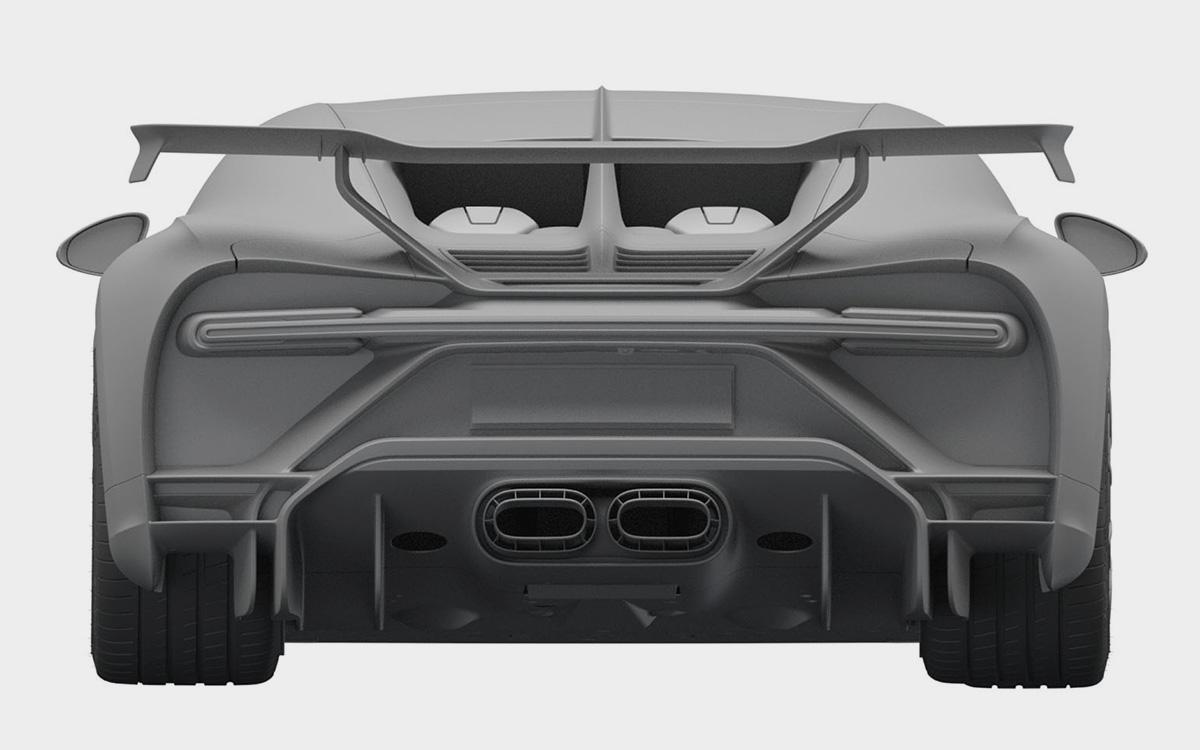 Bugatti в России запатентовал1500-сильный гиперкар за 300 млн рублей